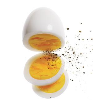 boiled egg (ไข่ต้ม)