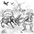 นิทานอีสปภาษาอังกฤษ เรื่อง Donkey And His Master