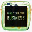 นิทานเรื่องสั้นสอนใจภาษาอังกฤษ เรื่อง Mind Your Business