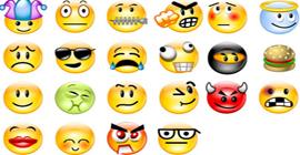 Emoticons สัญลักษณ์แสดงอารมณ์ในภาษาอังกฤษ